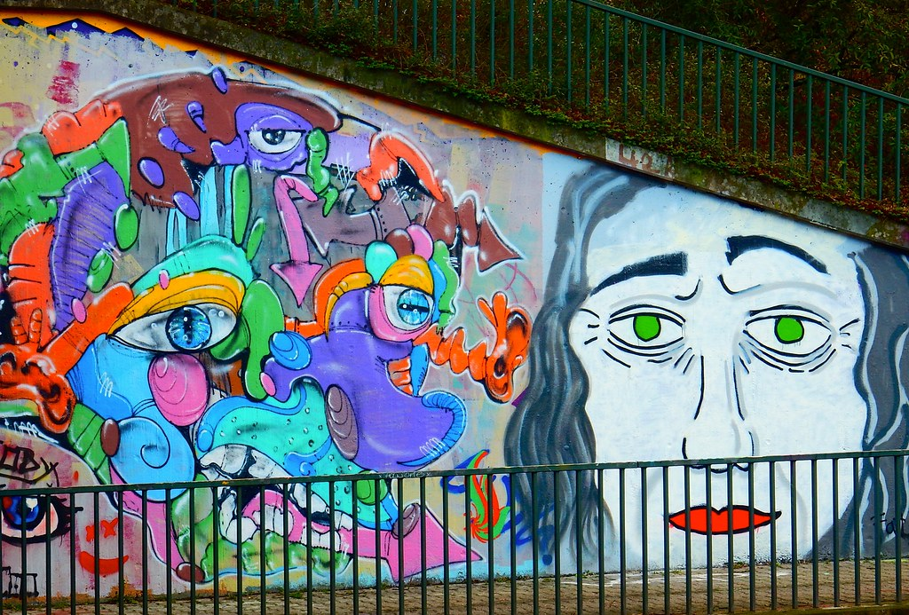 Graffiti Düsseldorf the s best photos of dusseldorf and graffiti flickr hive mind