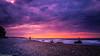 Tramonto sulla costa (SDB79) Tags: tramonto costa ciotoli pietre mare onde nuvole rosso litorale abruzzo