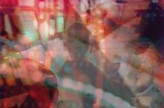 CIRCUS (fakeversaci) Tags: circus red contrast film mask lights spooky gloomy dark nikonl35ad veronica lupo newyork