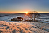 top withens sunrise BR1 (Bruce Rollinson Photos) Tags: haworth westyorks england sunrise dawn frosty wutthering heights bronte