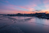 IMG_8815 (Fozzybeers) Tags: ice icy water winter sunrise sky canon annapolis maryland