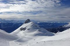 Crans Montana (corinne emery) Tags: cransmontana mountain montagne sky nuages valais wallis neige exterieur landscape