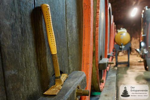 Hammer im Weinkeller des Weinguts Dr. Dahlem