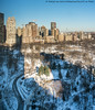 Morning Shadows (20180107-DSC07080) (Michael.Lee.Pics.NYC) Tags: newyork centralpark aerial shadows centralparkwest parklanehotel hotelwithview architecture cityscape snow winter sony a7rm2 fe24105mmf4g
