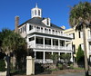 The Col. John Ashe House (c.1782, renovated 1930s), 32 South Battery, Charleston, SC (Spencer Means) Tags: house colonel col johnashe cupola piazza palmetto 32 southbattery broad south below whitepointgarden charleston sc southcarolina