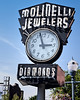 Diamonds on the Avenue (Noland Voide) Tags: purple idaho jewelers rings diamonds stones gold silver neon sign clock small city town necklace earings