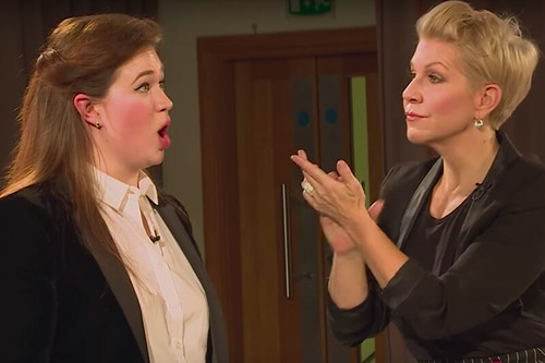 Watch: Joyce DiDonato gives a vocal masterclass to young singers