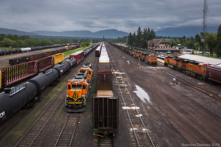 BNSF in Whitefish, MT