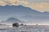 Mountain Layers (Oleg S .) Tags: hongkong harbor mountains china nature