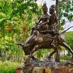 Bronze sculpture in the Garden of the Gods at Muang Boran, Samut Phrakan, Thailand thumbnail