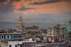 Old Havana rooftops at dusk (I saw_that) Tags: uncool cool cool2 uncool2 uncool3 uncool4 uncool5 uncool6 uncool7