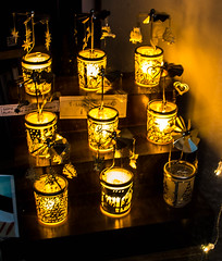 Eight Out of Nine Candles (Brian Travelling) Tags: pentaxkr scotland candles