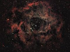 HaRGB Rosette Nebula (UKJay1971) Tags: astrophotography astroimaging astronomy narrowband imagingspace nebula astrometrydotnet:id=nova2444421 astrometrydotnet:status=solved