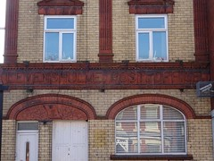 The former Levenshulme Post Office building (stillunusual) Tags: manchester levenshulme albertroad postoffice manchesterstreetphotography streetphotography street urban urbanscenery urbanlandscape cityscape building door window mcr city england uk 2018