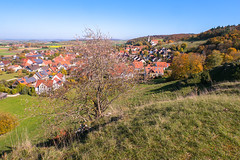 Blick vom Kühstein (Tobias Keller) Tags: 32 architektur bavaria bayern deutschland donauries germany herbst kloster landschaft mönchsdeggingen schwaben swabia weitwinkel weitwinkelkonverter architecture autumn fall landscape geo:lon=10572419066667 geocountry camera:make=panasonic exif:aperture=ƒ56 exif:isospeed=160 geostate geocity geolocation camera:model=dmcg5 geo:lat=48773134 exif:lens=lumixg14f25 exif:focallength=14mm exif:model=dmcg5 exif:make=panasonic lumixg14f25 panasonicdmcg5