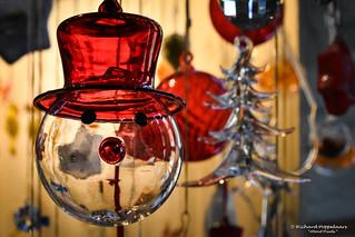 Glassblower Christmas decorations - Roman glassworks Museum - Monschau/DE