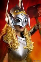Lady Thor take 2... (Ring of Fire Hot Sauce 1) Tags: cosplay ladythor mjjosephine sandiegocomiccon sdcc