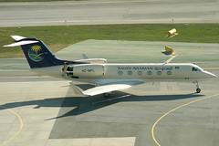 Saudi Arabian Special Flight Services Gulfstream 4 HZ-MFL (c/n 1128) (Manfred Saitz) Tags: vienna airport schwechat vie loww flughafen wien suadi arabian special flight services saudia gulf gulfstream 4 g4 glf4 hzmfl hzreg