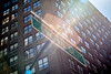 W 40 St (Franck_Michel) Tags: building new yoek sun flair street number windows