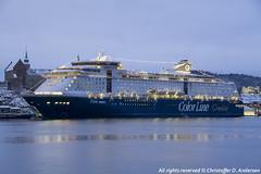 Color Magic ved SAK (4) (Christoffer Andersen) Tags: colorline colormagic cruiseferry worldlargestcruiseshipwithcardeck passengership portofoslo oslo oslofjorden