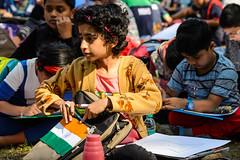 ECS_3165 (Deepak Kaw) Tags: painting composition colours contrast culture india children nikon tamron people portrait