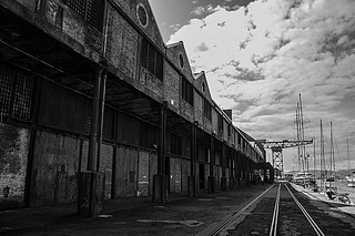 Tate and Lyle's Sugar Sheds