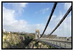 The majesty of Brunel's Clifton Suspension Bridge, Bristol (darklord.vic) Tags: bridge iphone bristol clifton brunel