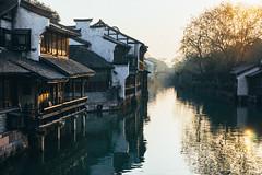 Wuzhen (Tomas Lei) Tags: wuzhen sonya7 mitakon street reflextion china