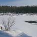 Snow-Covered Kettle River, Sandstone, Minnesota
