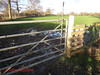 DSC05843 Tanners 40 - 2018 01 17 - Gate to Field (John PP) Tags: ldwa tanners tannersmarathon winter 40 miles long distance walkers association january 2018 solo hike johnpp