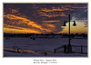 tonights sunset greets the ice fishermen in Bay City (TAC.Photography) Tags: 2018yip river saginawriver red redsky clouds dynamic brilliantsky wenonapark baycity streetlamps lamps tacphotography d7100 httpwwwtomclarknet tomclarknet