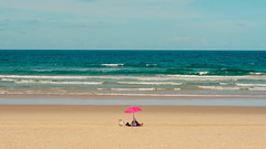 Standing out (Mr*J) Tags: beach sea summer people nikon 50mm d7200 australia goldcoast travel