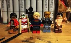 The Doom Patrol (Lord Allo) Tags: lego dc young animal doom patrol terry none negative man casey brinke robot flex mentallo