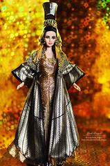 Cleopatra 02 (Lindi Dragon) Tags: doll mattel barbie cleopatra elizabeth taylor