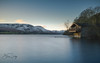 Duke of portland boat house (Shaun Derby Photography) Tags: lake district lakedistrict boathouse boat house water ullswater sunrise dawn morning longexposure sky tranquil goldenhour golden hour hills snow snowy mountains