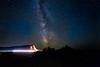 Milky Way over Badlands (Beau Finley) Tags: badlands badlandsnationalpark beaufinley milkyway southdakota usa lighttrail longexposure astrometrydotnet:id=nova2411153 astrometrydotnet:status=failed