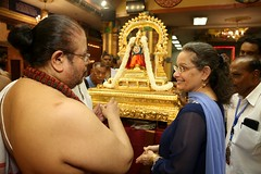 Ambassador Kamala Lakhdhir  Thaipusam walk at Maha Mariamman Temple (United States Embassy Kuala Lumpur) Tags: ambassador kamala lakhdhir thaipusam walk maha mariamman temple