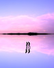"""(""""What's in the box?!"""") Tags: reflection photoshop pink silhouette photography photograph photo potd landscape canon dslr digital human portrait portraits manipulation sunset sunsets sky clouds"""