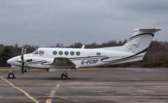 EGLK - Beech B200 Super King Air - G-PCOP (lynothehammer1978) Tags: eglk bbs blackbushe blackbusheairport gpcop beechb200superkingair