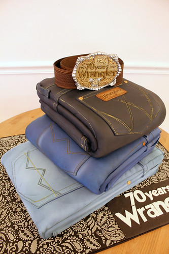 Pairs of Jeans Cake