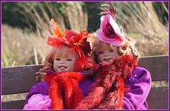 Sanrike und Tivi ... (Kindergartenkinder) Tags: sanrike kindergartenkinder annette himstedt dolls gruga grugapark essen tivi