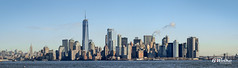 Manhattan Cityscape (B. Weihe Photography) Tags: benjamin weihe b photography canon eos 700d reise 2017 sigma art 18 new york city usa united states manhattan cityscape stadtbild panorama one world trade center observatory empire state building water front hudson east river brooklyn bridge liberty island downtown lower battery park winter