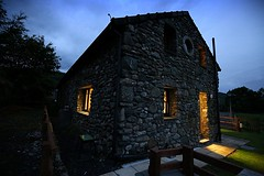 A cottage in Snowdon (sarahwilson-blackwell) Tags: 6d slowshutter wales uk cottage snowdonia nightshots canon lowlight