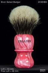 018BZ-001-B18-FRONT (paladinshaving) Tags: paladin wet shaving brushes chief pk47 tut moe 26 28 mm brush select badger