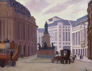 'Aldwych' by Robert Bevan (1865-1925)