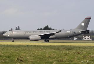 The Republic of Singapore Air Force A330-243MRTT EC-333