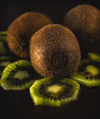 kiwi (jokanovicgoran) Tags: love heart fresh food green healthy natural organic wooden sweet tropical freshness diet nutrition cut vegetarian ripe juicy kiwis nature color texture closeup pattern tasty brown slice vegan ingredient half isolated vitamin kiwi background fruit