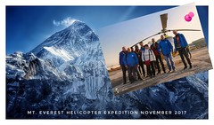 Mt. Everest Helicopter Expedition (posterboy2007) Tags: kathmandu nepal tour helicopter team sunsara sunrise airbush125