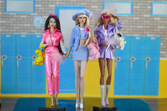Clueless (halscary) Tags: clueless movei barbie collector ayumi fashion royalty integrity toys doll nadja rhymes color infusion nu face poppy parker snow white heirloom meangirls mean girls fairytale sleeping beauty