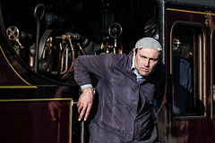 Happy Driver (Mister Oy) Tags: eastlancsrailway train d850 nikond850 nikon70300mmf456afsvr steamtrain